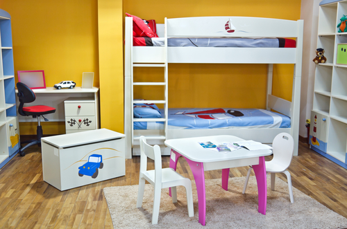 Boy's Bedroom Idea 12 – Car and Trucks Theme
