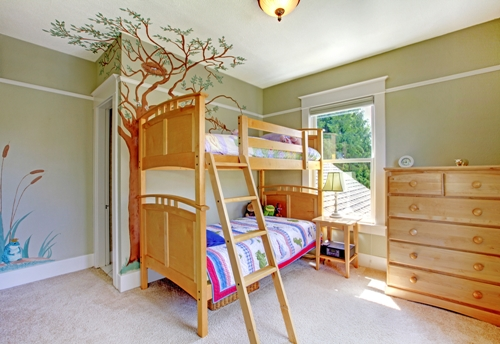 Girls Bedroom Idea 2 – Touch of Nature_Loft Bed 1