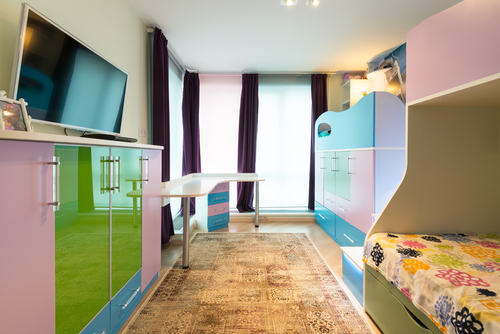 Bedroom Idea U2013 Space Saving Room For 3 Kids To Share