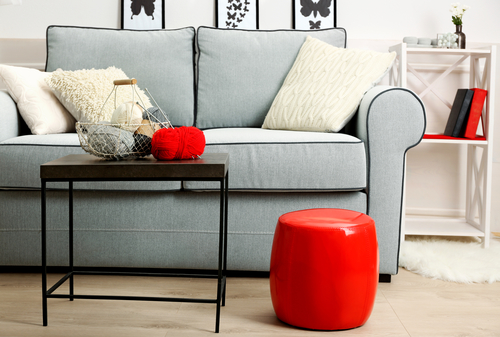 Colorful Furniture for Small Living Room