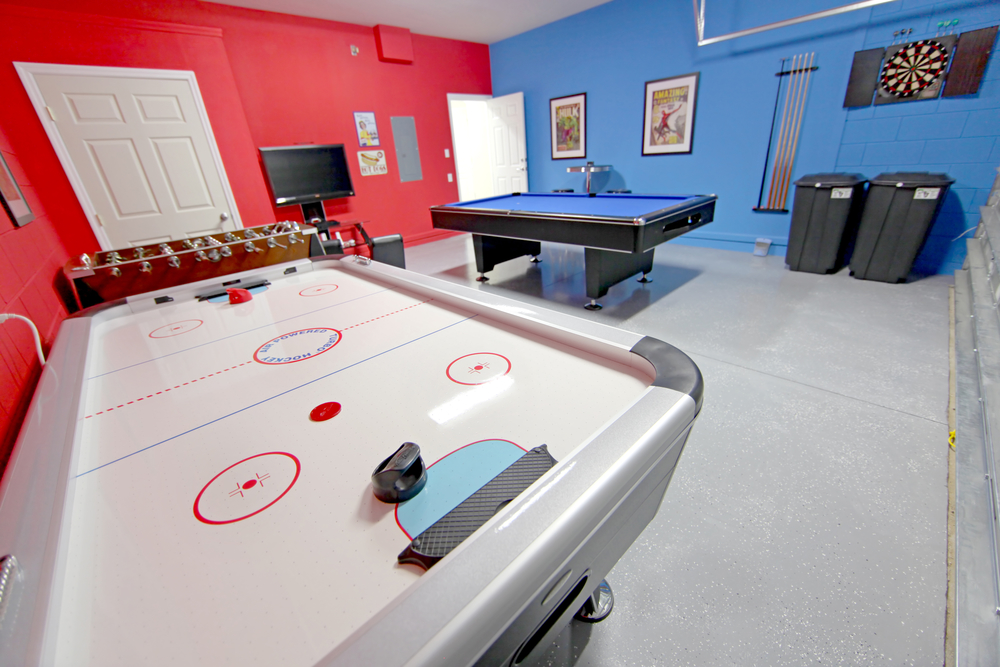 Another Modern Design To Create Your Gaming Area As A Recreational As Well  As A Relaxing Space On The Top Floor Of Your House. For This You May Have  To Give ...
